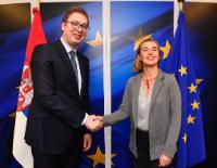 Visit of Aleksandar Vučić, President of Serbia, to the EC