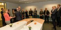 Remise des médailles de 20 ans de fonction publique européenne à la DG NEAR
