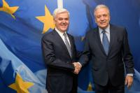 Visit of Fatmir Xhafaj, Albanian Minister for the Interior, to the EC