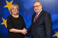 Visit of Gheorghe Șimon, Romanian Minister for Economy, to the EC