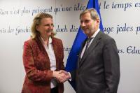 Visit of Karin Kneissl, Austrian Minister for Europe, Integration and Foreign Affairs, to the EC