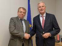 Visit of Klaus-Heiner Lehne, President of the European Court of Auditors, to the EC