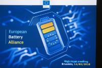 2e réunion de l'Alliance pour les batteries dans l'UE