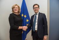 Visite de Dario Nardella, maire de Florence, à la CE