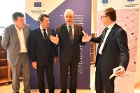 Participation of Dimitris Avramopoulos, Corina Creţu and Julian King, Members of the EC, at the 'EU Mayors' Conference'
