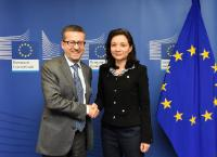 Visit of Delphine Gény-Stephann, French Secretary of State at the Ministry for the Economy and Finance, to the EC