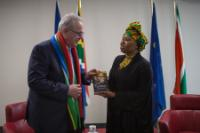 Visit of Neven Mimica, Member of the EC, to South Africa