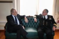 Visite de Dimitris Avramopoulos, membre de la CE en Grèce