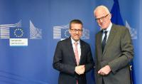 Visite de Jürgen Rüttgers, président du groupe de stratégie de haut niveau sur les technologies industrielles, à la CE