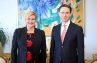 Visite de Jyrki Katainen, vice-président de la CE, en Croatie