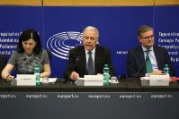 Joint press conference by Dimitris Avramopoulos, Vĕra Jourová and Julian King, Members of the EC, on the Security Union