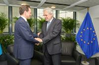 Bilateral meeting between Christos Stylianides, Member of the EC, and Pierre Krähenbühl, Commissioner General for the United Nations Relief and Works Agency for Palestine Refugees in the Near East (UNRWA)