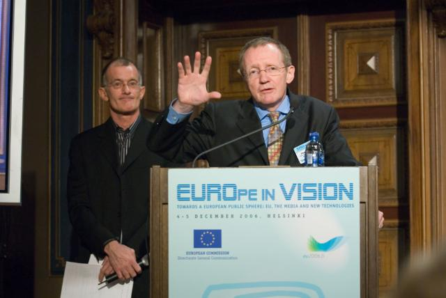 Participation of Margot Wallström, Vice-President of the EC at the 'EUROpe in VISION' conference