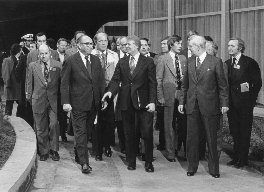 Visit of  Jimmy Carter, President of the United States, to the CEC