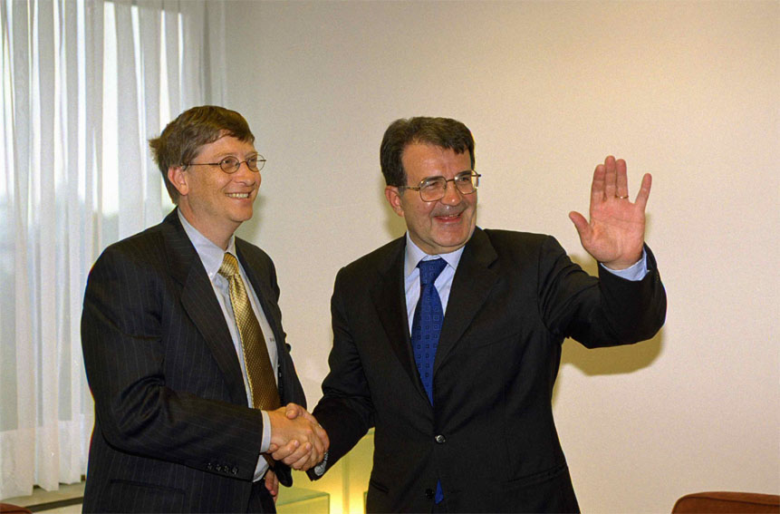 Visit of  Bill Gates, President of Microsoft, to the European Commission