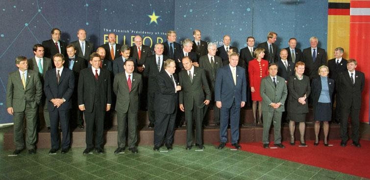 Tampere Special European Council, 15-16/10/1999
