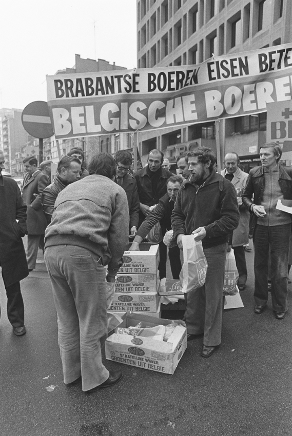 Farmers (Boerenbond) Demonstration