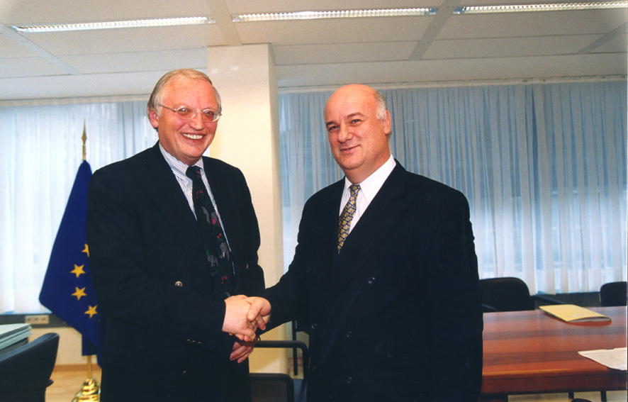 Visit of Joe Borg, Maltese Minister for Foreign Affairs, to the EC
