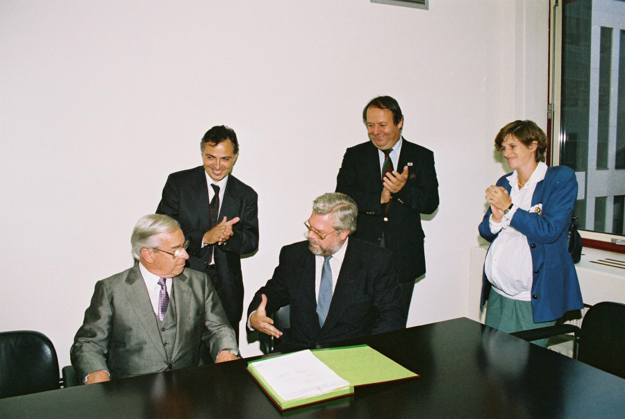 Signing of an agreement within the framework of the BC-NET