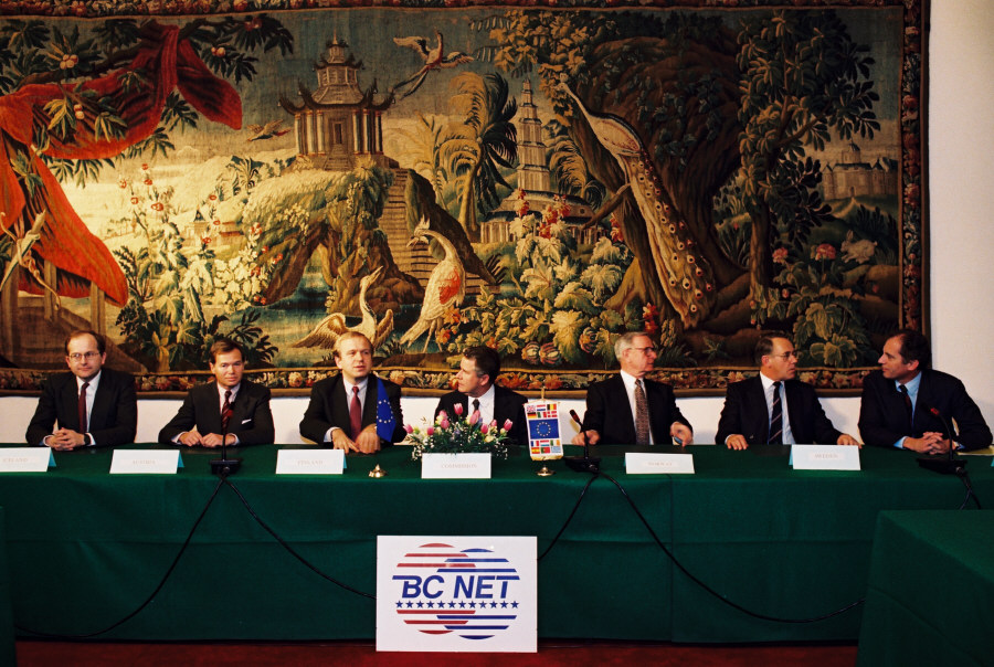 Signing of an agreement on the extension of BC-Net to the member countries of EFTA