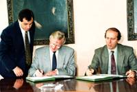 Signature of financing agreement for the Kozloduy Nuclear power station safety programme