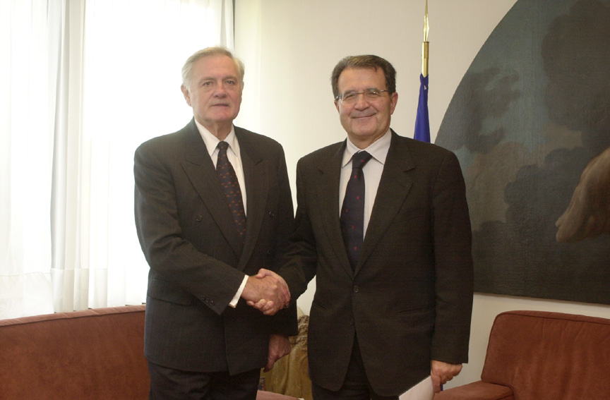 Visit of Valdas Adamkus, President of Lithuania, to the EC