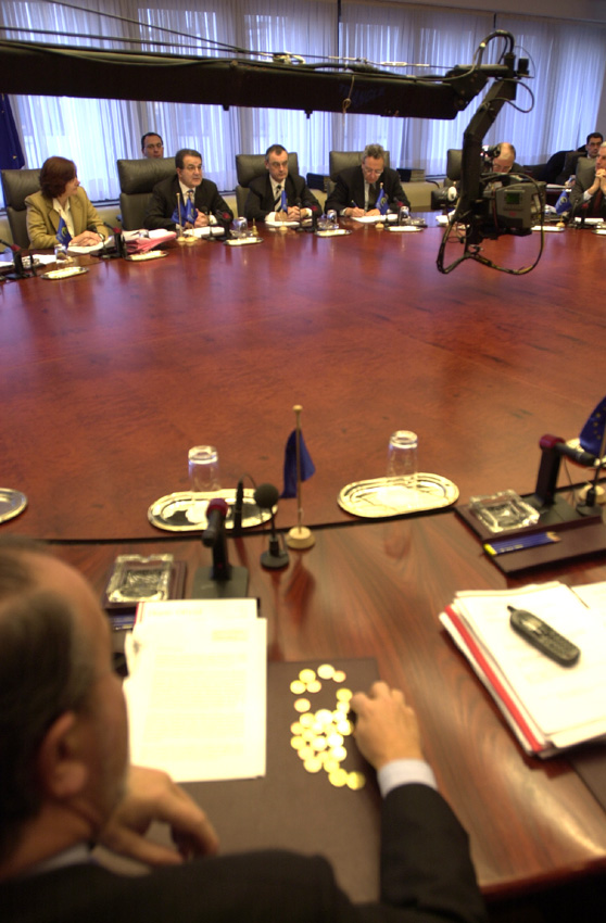 Special Commission meeting on the introduction of the euro and visit to Euro-village