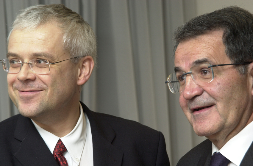 Visite de Vladimír Špidla, Premier ministre tchèque, à la CE