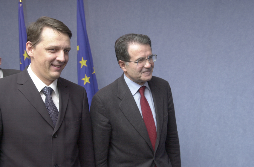 Visit of Anton Rop, Slovene Prime Minister, to the EC