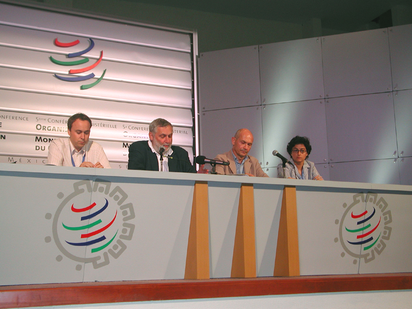 5th WTO Ministerial Conference, Cancun, 10-14/09/2003