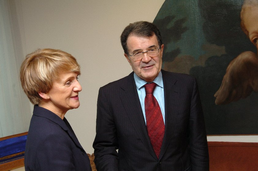 Visit of Danuta Hübner, Polish Minister for European Affairs, to the EC