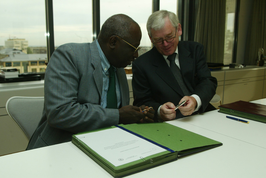 Signature of an EC-FAO Memorandum of Understanding