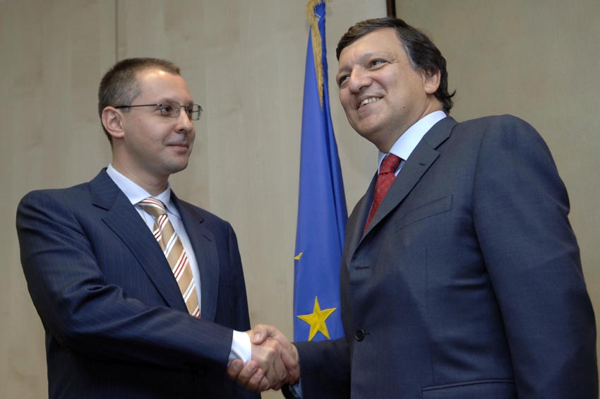 Visit of Sergei Stanishev, Bulgarian Prime Minister, to the EC