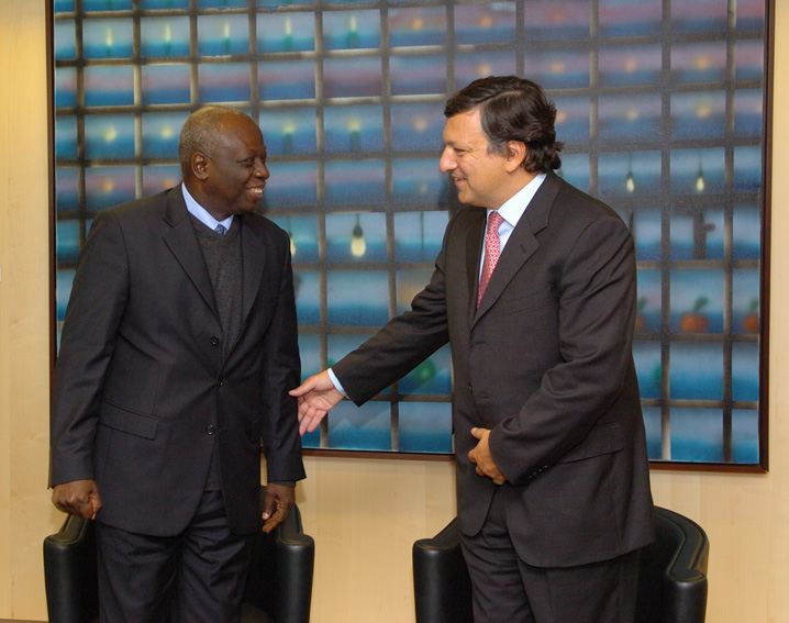 Visit of Jacques Diouf, Director-General of the FAO, to the EC