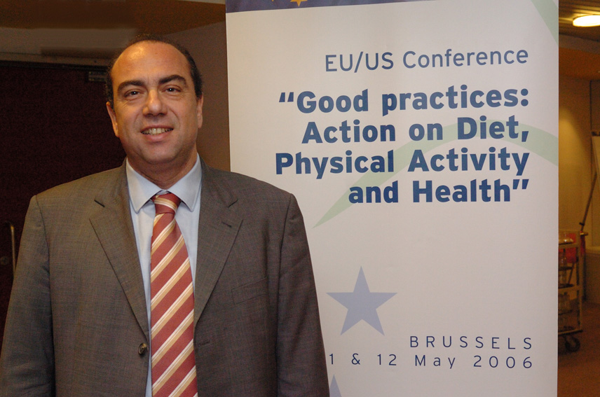 Participation of Markos Kyprianou, Member of the EC, at the EU/US Conference on good practices for diet, physical activity and health