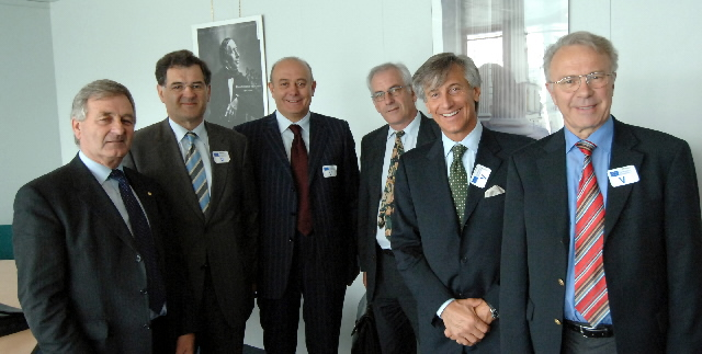 Visit by a delegation of the COPA and of the Cogeca to the EC