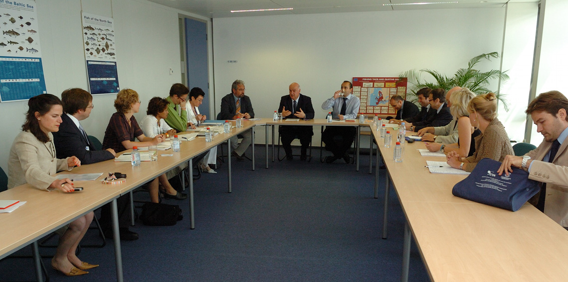 Visit by a delegation from the Advisory Committee on Fisheries and Aquaculture to the EC