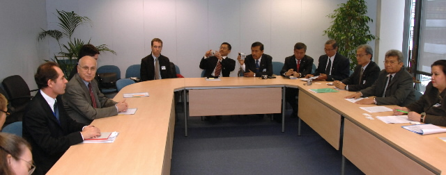 Visit by Malam S. Kaban, Indonesian Minister of Forestry, to the EC