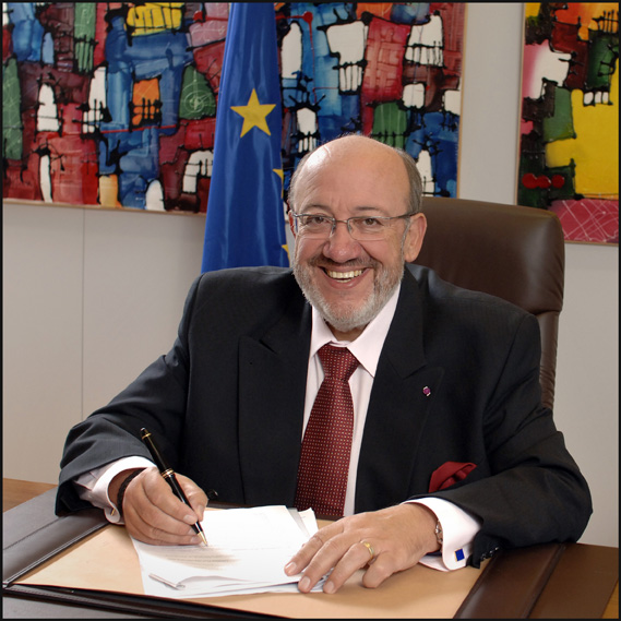 Louis Michel, Member of the EC