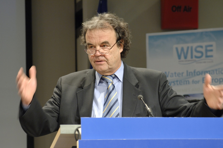 Press conference with Stavros Dimas, Member of the EC, on water quality