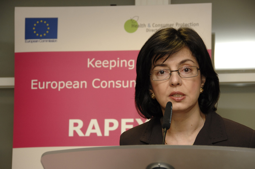Press conference by Meglena Kuneva , Member of the EC on the 2006 Annual Report on Dangerous Consumer Products withdrawn from the EU Market
