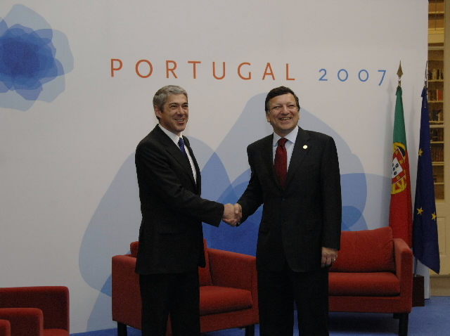 Inaugural meeting of the Portuguese Presidency of the Council of Ministers of the EU with the EC
