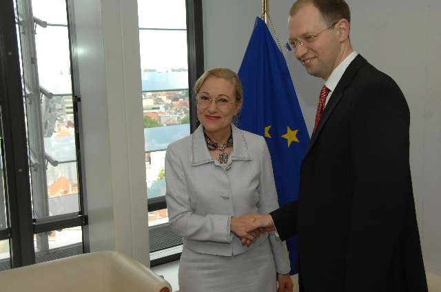 Visit by Arseniy Yatsenyuk, Ukrainian Minister for Foreign Affairs, to the EC