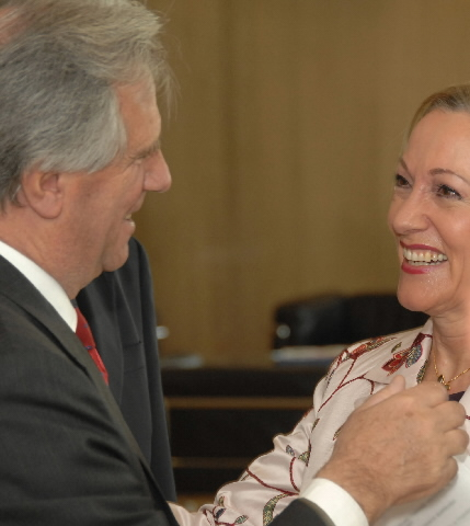 Visit by Tabaré Vázquez, President of Uruguay, to the EC