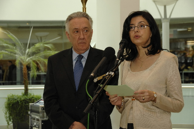 Participation of László Kovács and Meglena Kuneva in the opening of the