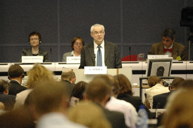 Participation of Vladimír Špidla, Member of the EC, in the