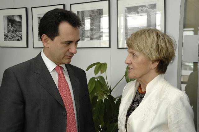 Visit of Bozidar Djelic, Serbian Deputy Prime Minister