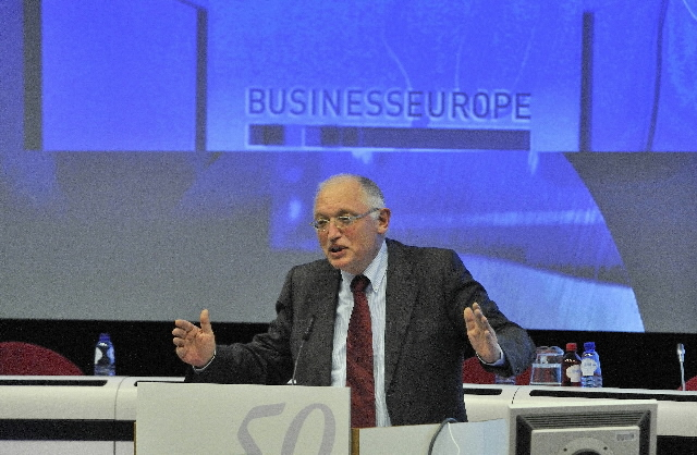 Participation of Günter Verheugen, Catherine Ashton and Louis Michel in the conference Business Europe - Going Global: the way forward