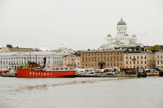 The capitals of the EU: Helsinki