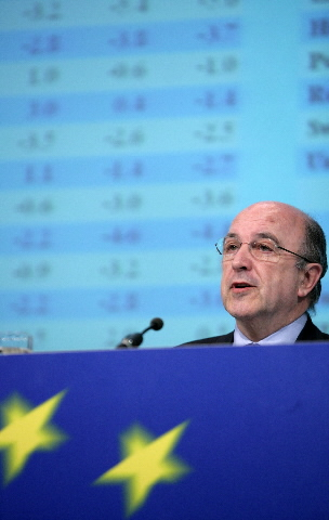 Press conference by Joaquín Almunia, Member of the EC, on the interim economic forecasts